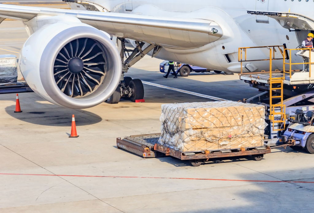Air Freight on the Runway