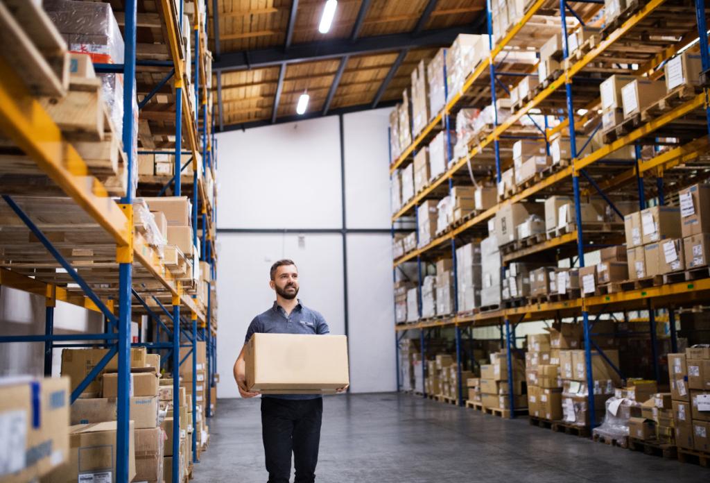 Retail Logistics Warehouse