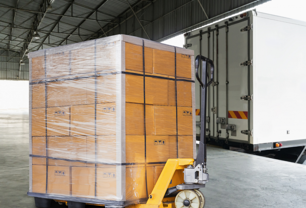 LTL Freight Pallet Ready to Ship